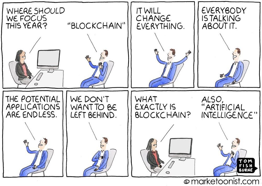 Blockchain, Artifical Intelligence, Internet-of-Things!!